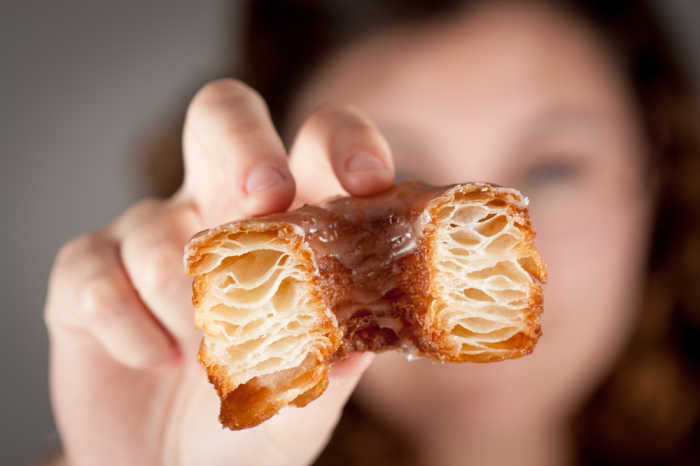 Den Cronut könnt ihr auch einfach nachbacken