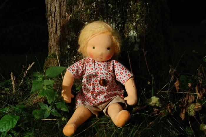 Puppe Selbstgemacht