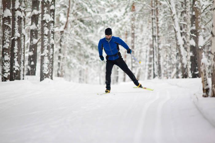Langlauf-Skating ist ein echter Kalorien-Killer.