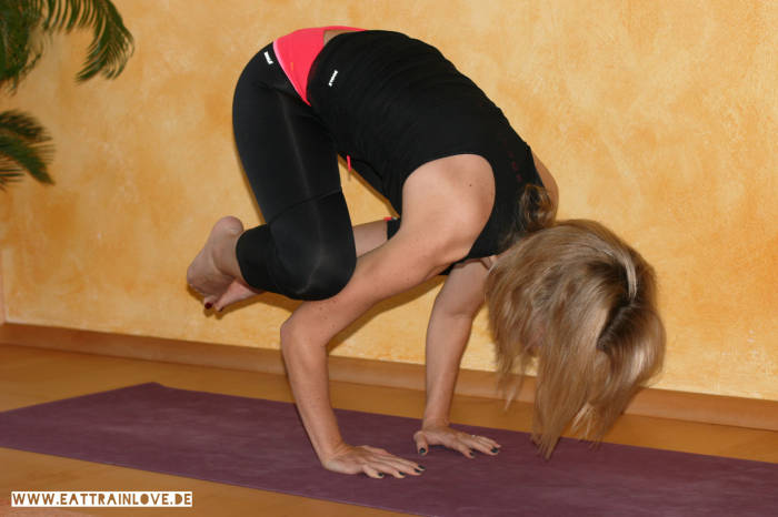 Kristin beim Yoga