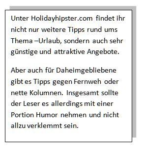holidayhipster