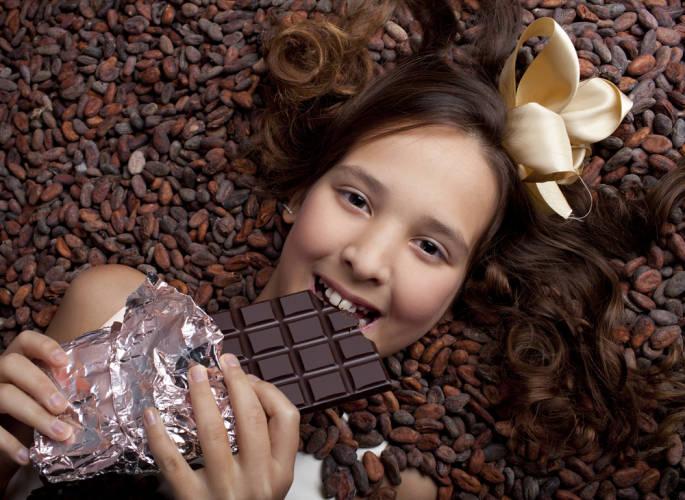 Schoki Kakaobohnen