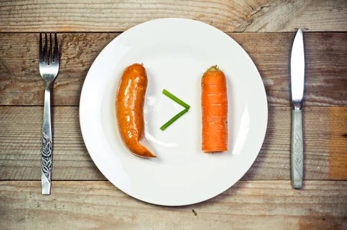 möhre wurst vegan fleisch