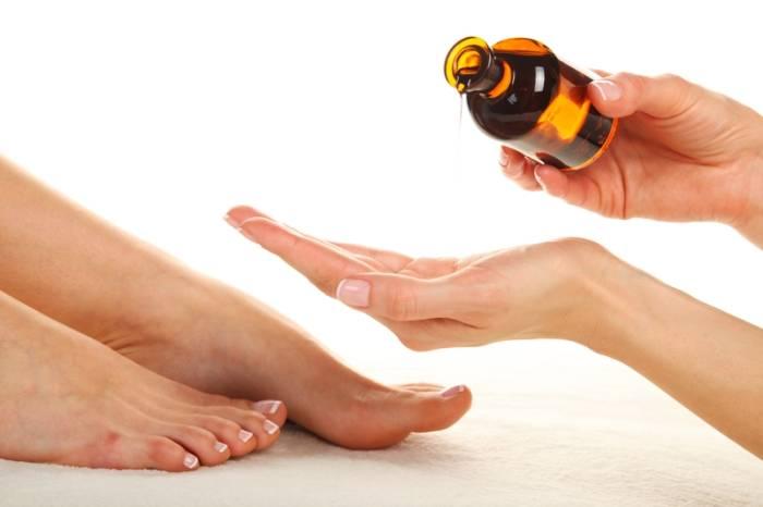 Öl Füße