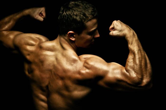 Bodybuilder Muskeln Mann