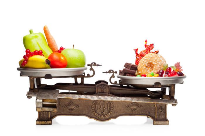 Gewöhnungsbedürftig, aber unabdingbar für IIFYM: die Küchenwaage.