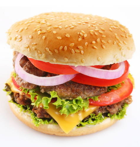 Auch der Cheeseburger muss nicht gänzlich aus dem Speiseplan verbannt werden.