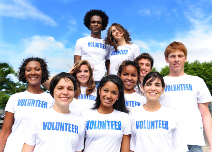 Volunteers Freiwilligenarbeit international