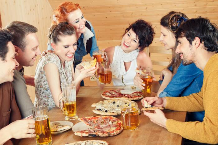 Abnehmen Essengehen Alkohol