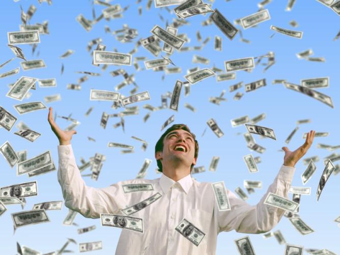 Millionen auf dem Konto machen nicht glücklicher - aber ein gewisser Wohlstand sehr wohl.
