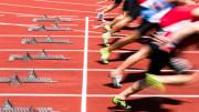 Läufer nach dem Startschuss