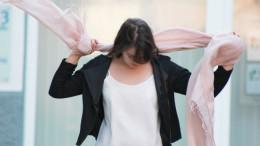 Modebewusst Schülerin