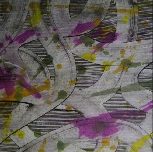 Das Buntpapier von Christine Wenger ist mit seinen tollen Mustern geradezu prädestiniert für Papierostereier!