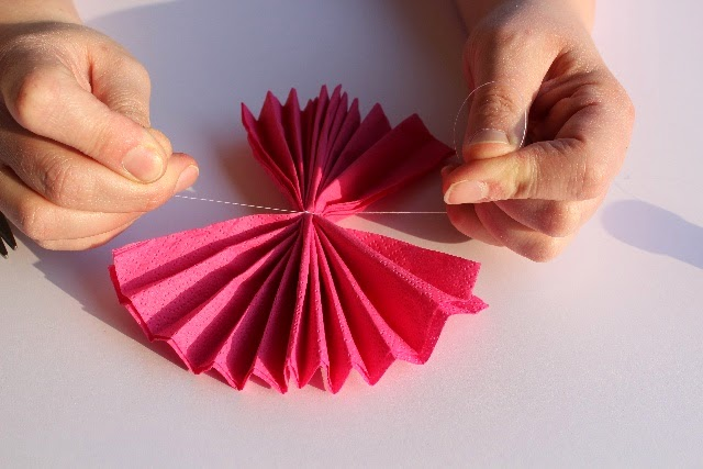 Serviette Blume 3
