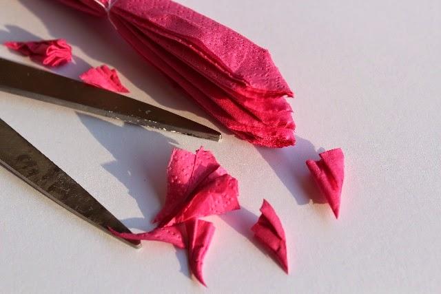 Serviette Blume 4