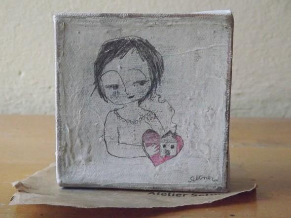 """Gemälde """"Heimat"""" von Stefanie Seltner"""