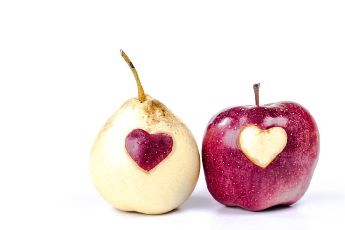 Apfel und Birne, die Obstsorten für den Winter, als Kompott, Kuchen oder als Pausensnack.