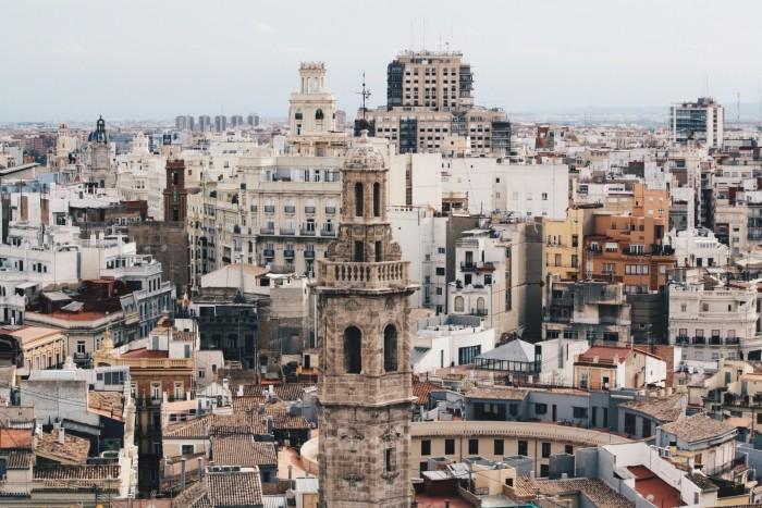 Urlaubsfotos in der Stadt