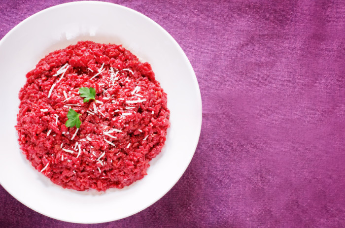 Risotto Pink Rote Beete