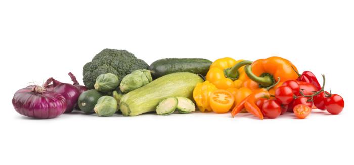 Regenbogen Gemüse