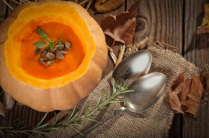 Kürbis Suppe