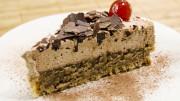 Maronen Kuchen Schokosahne
